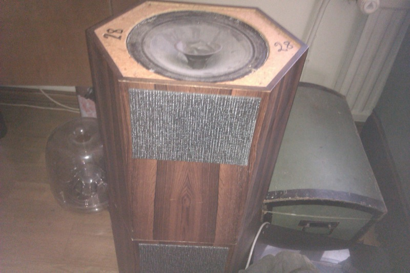 Larson L360A - old design - nice elements? - Loudspeakers